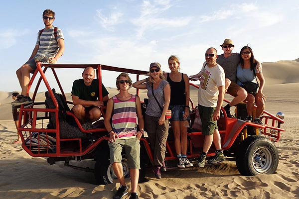 Tour en buggy en Huacachina