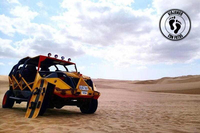Buggy en el desierto de Huacachina